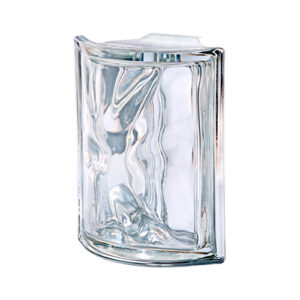 Pustaki szklane Angolare Neutro O Met Luksfery chmurki łukowe metalizowane