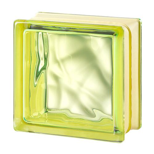 Pustaki szklane MyMiniGlass Very Natural Green luksfery 14,6x14,6x8